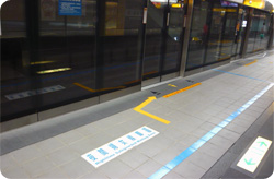 Nighttime Waiting Zones for Female Passengers